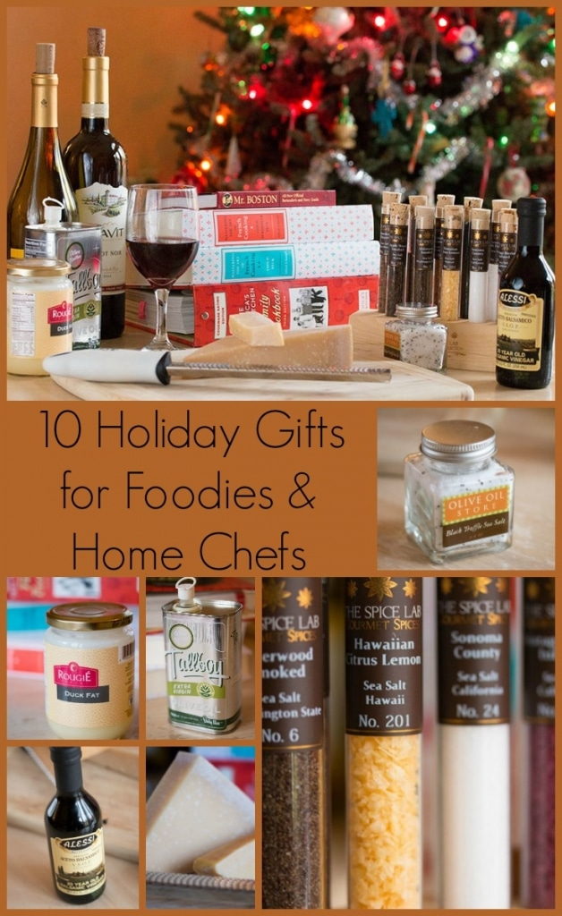 10 Holiday gift ideas for cooks and foodies