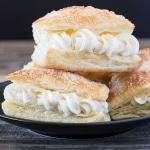 Lazy Cream Horns Recipe