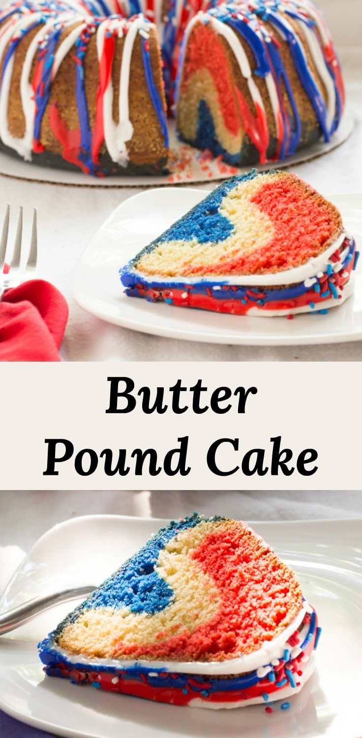 Butter Pound Cake recipe that does not need any butter sauce added to make it moist or buttery.  This one already has it all! #recipes
