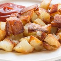 Fried Potatoes (AKA Home Fries)