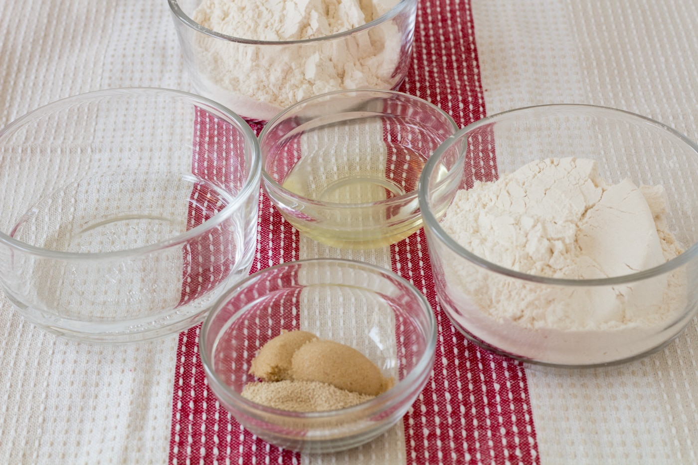 Yeast pizza dough ingredients